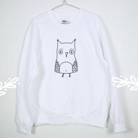 Owl. sweatshirt
