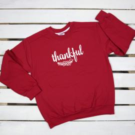 Thankful. sweatshirt