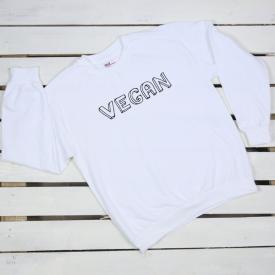 Vegan. sweatshirt
