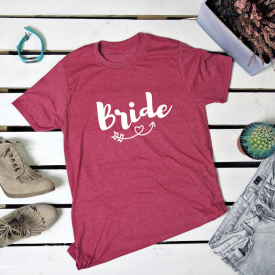 Bride. t-shirt