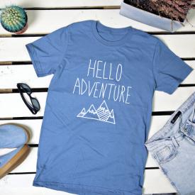 Hello adventure. t-shirt