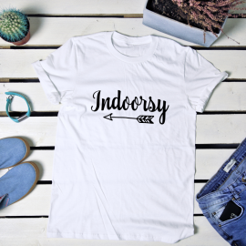 Indoorsy. t-shirt