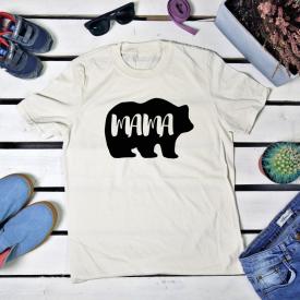 Bear small couple t-shirt set