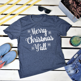 Merry Christmas y'all. t-shirt