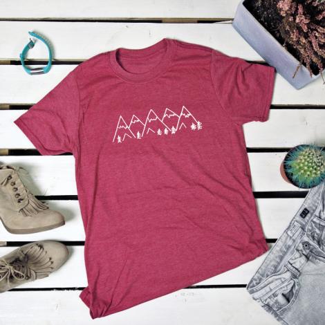 Mountains. t-shirt