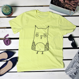 Owl. t-shirt