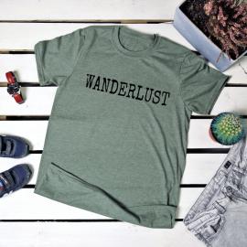 Wanderlust. t-shirt
