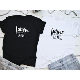 Future Mr. Mrs. couple t-shirt set