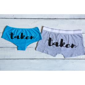 Taken couple's underwear set