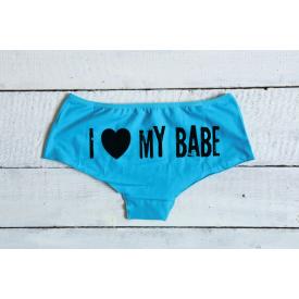 I love my babe women's underwear