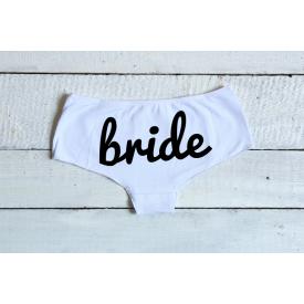 Bride women's underwear