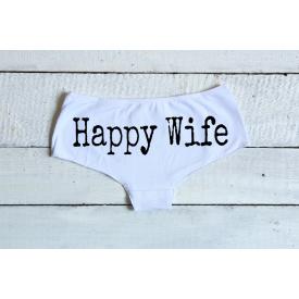 Happy wife women's underwear