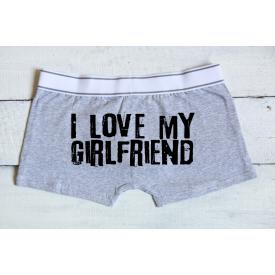 I love my girlfriend men's underwear