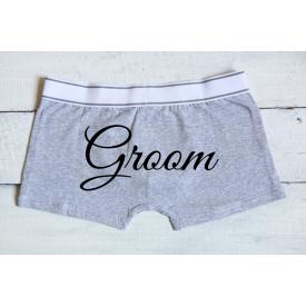 Groom men's underwear