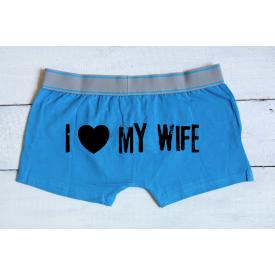 I love my Wife men's underwear