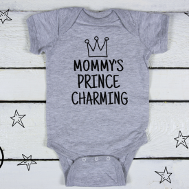 Mommy's prince charming bodysuit