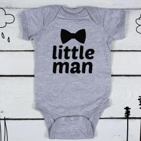 Little man bodysuit