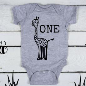 One giraffe bodysuit