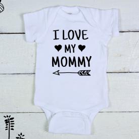I love my mommy bodysuit