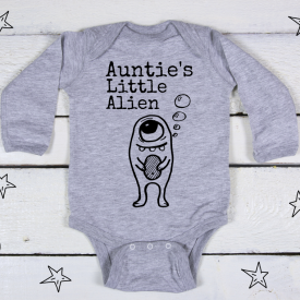 Auntie's little alien bodysuit