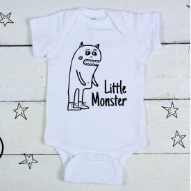 Little monster bodysuit
