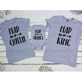 Nap queen, prince, king set