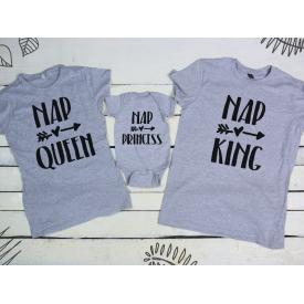 Nap queen, princess, king set