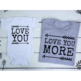 Love you, love you more set