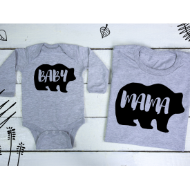 Baby, mama bear set