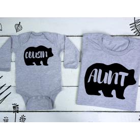 Cousin, aunt bear set