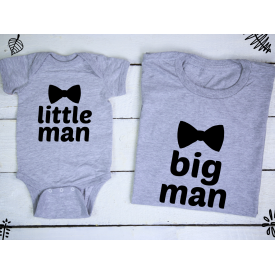 Little man, big man set