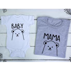 Baby, mama set