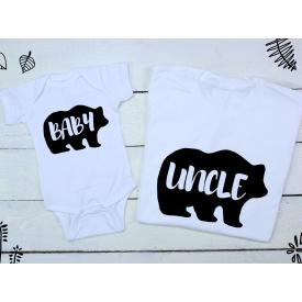 Baby, uncle bear set