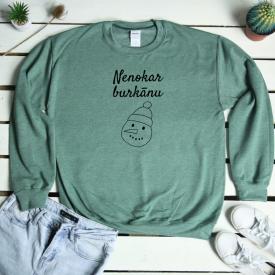 Nenokar burkānu. sweatshirt