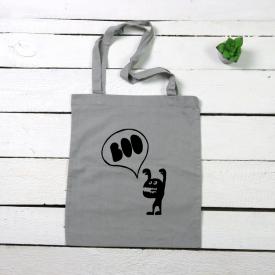 Boo tote canvas bag