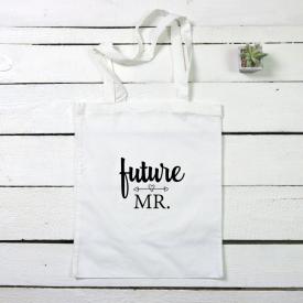 Future Mr. tote canvas bag