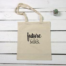 Future Mrs. tote canvas bag