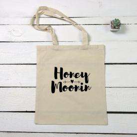 Honey moonin tote canvas bag