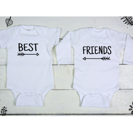 Best friends bodysuits